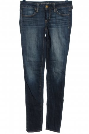 American Eagle Outfitters Hüftjeans blau Casual-Look