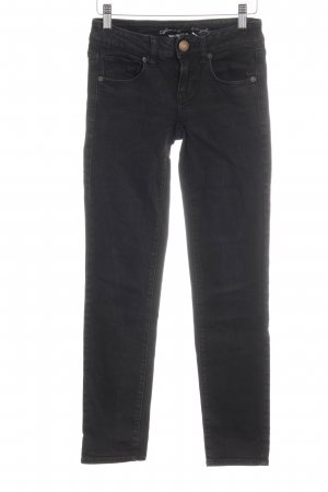 American Eagle Outfitters Jeans skinny noir tissu mixte