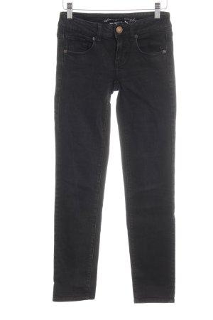 American Eagle Outfitters Skinny jeans zwart Gemengd weefsel