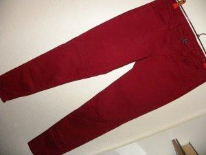 american eagle Jeans a sigaretta rosso scuro Cotone