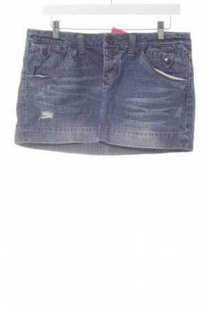 American Eagle Outfitters Jeansrock stahlblau Casual-Look