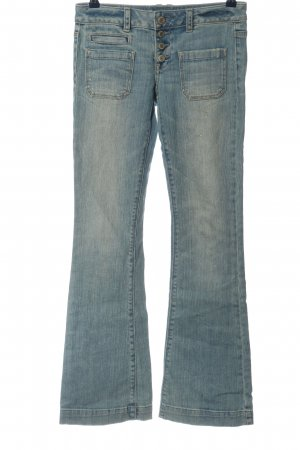 American Eagle Outfitters Jeansschlaghose blau Casual-Look