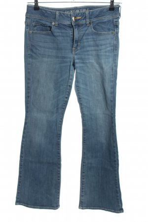 American Eagle Outfitters Jeans flare bleu style décontracté