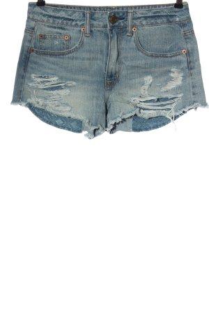 American Eagle Outfitters Short en jean bleu style décontracté
