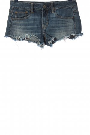 American Eagle Outfitters Spijkershort blauw casual uitstraling