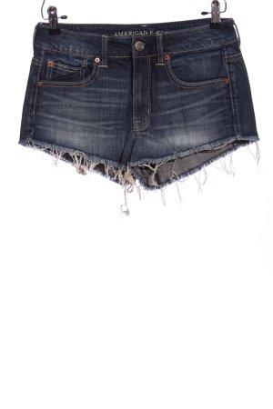 American Eagle Outfitters Pantaloncino di jeans blu stile casual