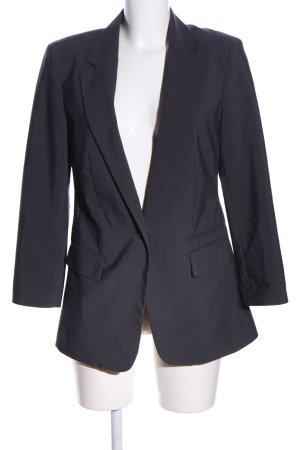 American Eagle Outfitters Jersey blazer lichtgrijs gestippeld zakelijke stijl