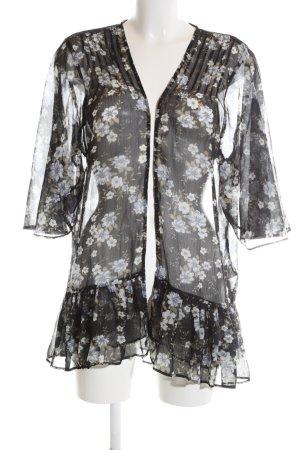 American Eagle Outfitters Kimono bloemenprint casual uitstraling