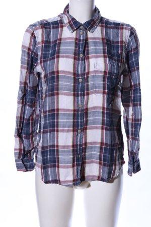 American Eagle Outfitters Shirt met lange mouwen geruite print