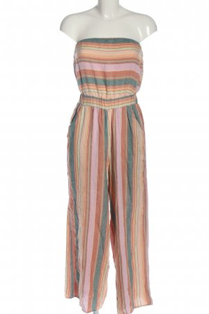 American Eagle Outfitters Langer Jumpsuit Streifenmuster Casual-Look
