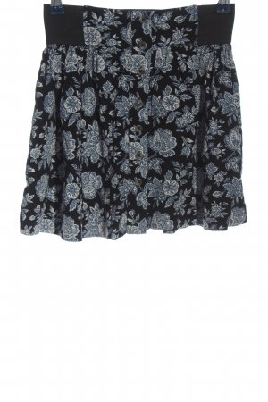 American Eagle Outfitters Mini rok zwart volledige print casual uitstraling