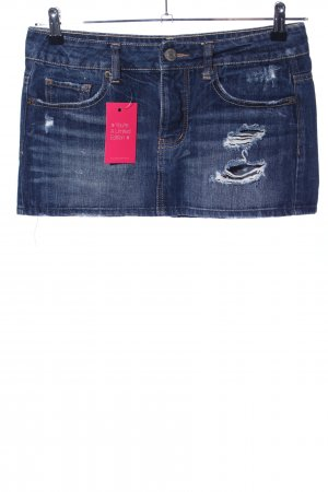American Eagle Outfitters Minirock blau Casual-Look