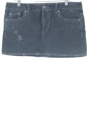 American Eagle Outfitters Mini rok donkerblauw tweedehandse uitstraling