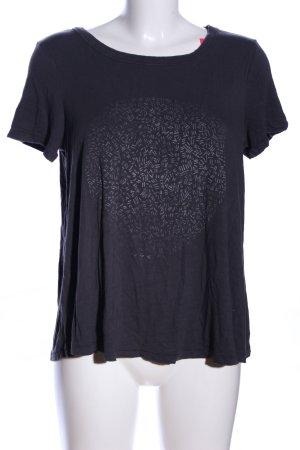 American Eagle Outfitters T-shirt imprimé noir motif abstrait
