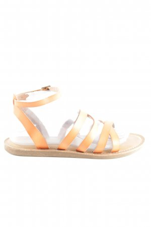 American Eagle Outfitters Riemchen-Sandalen hellorange Casual-Look