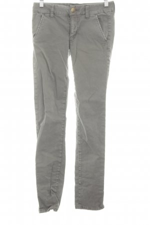 American Eagle Outfitters Drainpipe Trousers light grey casual look