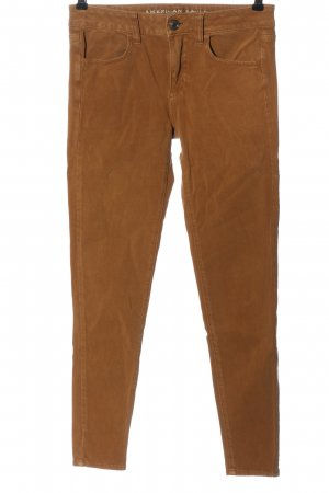 American Eagle Outfitters Jeans a sigaretta marrone stile casual