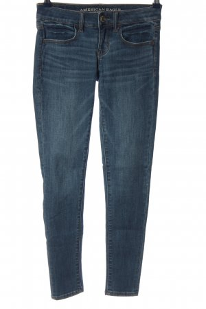 American Eagle Outfitters Jeans a sigaretta blu stile casual