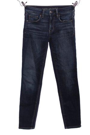 American Eagle Outfitters Jeansy rurki niebieski W stylu casual