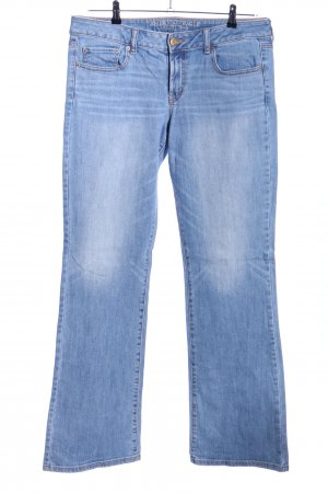 American Eagle Outfitters Tube jeans blauw casual uitstraling
