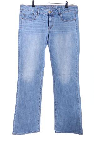 American Eagle Outfitters Jeans cigarette bleu style décontracté