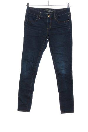 American Eagle Outfitters Röhrenjeans blau Casual-Look