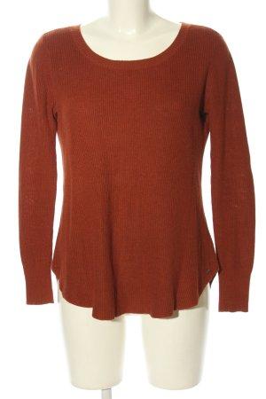 American Eagle Outfitters Sweter z okrągłym dekoltem jasny pomarańczowy