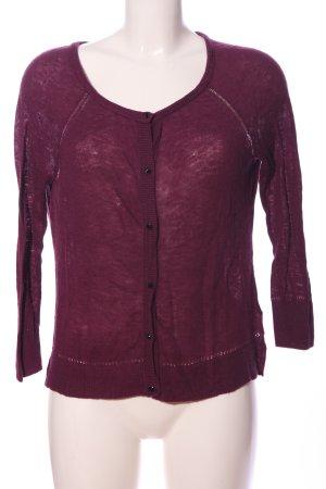 American Eagle Outfitters Sweter z okrągłym dekoltem różowy Melanżowy