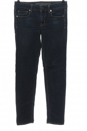 American Eagle Outfitters Vaquero skinny azul look casual