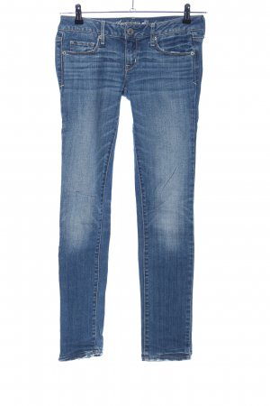 American Eagle Outfitters Skinny Jeans blau Casual-Look