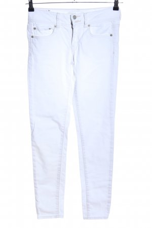 American Eagle Outfitters Jeans skinny blanc style décontracté