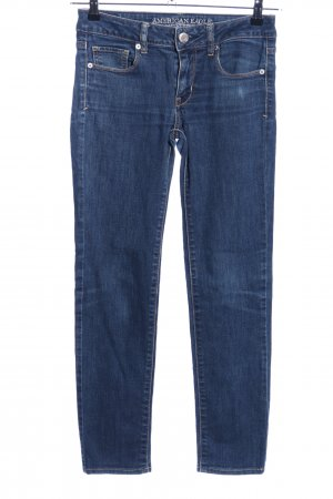 American Eagle Outfitters Skinny jeans blauw casual uitstraling