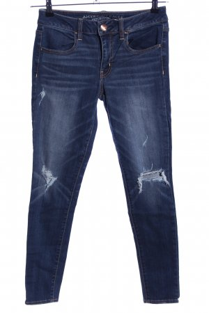 American Eagle Outfitters Jeans skinny bleu style décontracté
