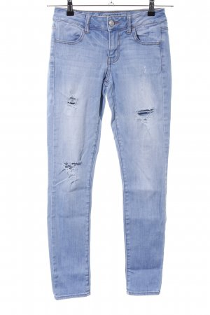 American Eagle Outfitters Slim jeans blauw casual uitstraling