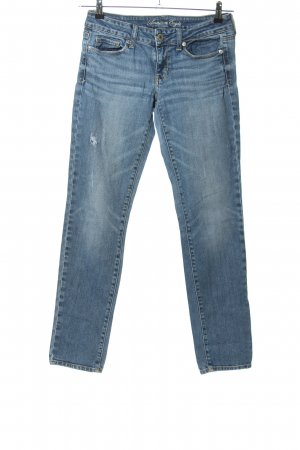 American Eagle Outfitters Slim Jeans blau Casual-Look
