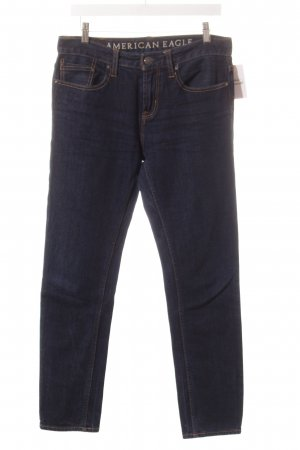American Eagle Outfitters Slim Jeans dunkelblau Casual-Look