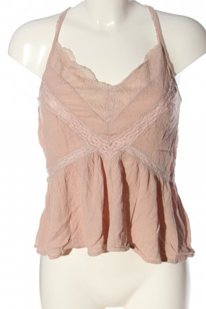 American Eagle Outfitters Spaghetti Strap Top nude casual look