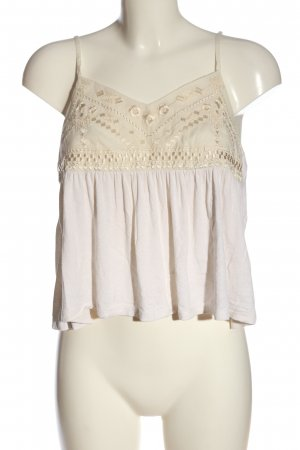 American Eagle Outfitters Spaghettiträger Top wollweiß-creme Casual-Look