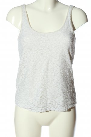 American Eagle Outfitters Spitzentop weiß Casual-Look