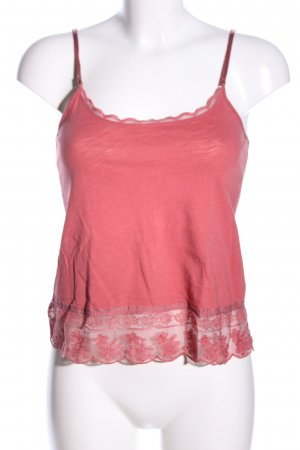 American Eagle Outfitters Spitzentop rot Casual-Look