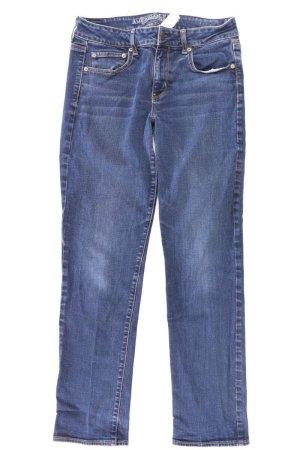 American Eagle Outfitters Jeans a gamba dritta blu-blu neon-blu scuro-azzurro
