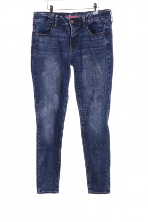 American Eagle Outfitters Stretch Jeans blau Casual-Look