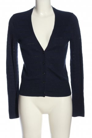 American Eagle Outfitters Strick Cardigan blau Streifenmuster Casual-Look
