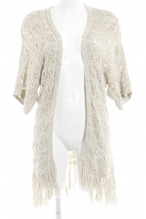 American Eagle Outfitters Cardigan beige-cream color gradient casual look