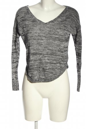 American Eagle Outfitters Knitted Sweater light grey flecked casual look
