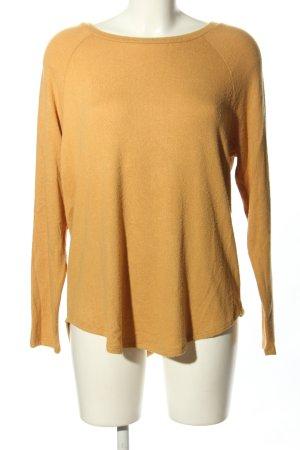 American Eagle Outfitters Sweter z dzianiny jasny pomarańczowy W stylu casual