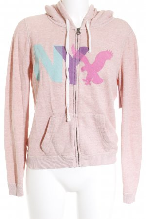 American Eagle Outfitters Sweatjacke rosa Casual-Look