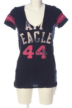 American Eagle Outfitters T-Shirt Schriftzug gedruckt Casual-Look