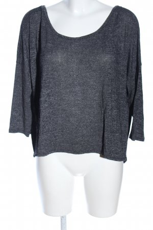 American Eagle Outfitters T-shirt lichtgrijs gestippeld casual uitstraling