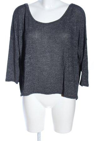 American Eagle Outfitters T-shirt gris clair moucheté style décontracté